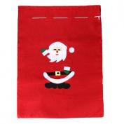 Binmer(TM)Christmas Gift Bag Santa Claus Fabric Gift Sacks Xmas Party Gift Bag Presents Toy Bag