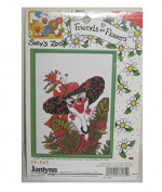 Suzy's Zoo 1997 Retired Cross Stitch Kit - Friends & Flowers 13cm x 18cm The Goose