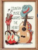 Jiffy Sunset Counted Cross Stitch Country Music