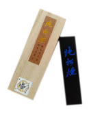 Hukaiwen Handmade Pure Pine Smoke Ink Stick for Chinese Traditional Calligraphy and Painting