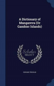 A Dictionary of Mangareva