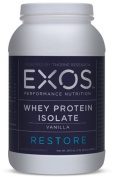 EXOS - Whey Protein Isolate - Vanilla - NSF Certified for Sport® - 30 Servings