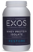 EXOS - Whey Protein Isolate -Chocolate - NSF Certified for Sport® - 30 Servings