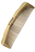 HIGH QUALITY Wooden Bamboo Beard and Moustache Comb by Leven Rose - #1 TRUSTED in Beard Care - Static Free, No Snags - Perfect for a Beard Comb Kit - Get the Groomed Beard Look - Made with Pure Bamboo