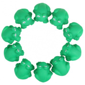 Lookatool® Cute One Dozen Rubber Cute Frog With Sound Shower Favours Baby