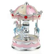 Tonsee New Merry-Go-Round Music Box Christmas Birthday Gift Carousel Music Box