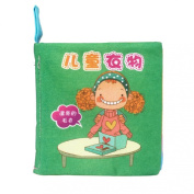 Tonsee Soft New Cloth Baby Intelligence Development Learn Picture Cognize Book