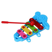 Orangesky Baby Kid 4-Note Xylophone Musical Toys Wisdom Development