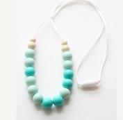Aishine Teether - Rainbow Silicone Teething Nursing Necklace for Mom & Baby - BPA free - Organic Food Grade Silicone
