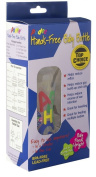 Podee Single Pack Hands Free Baby Bottle System ~ 1- 270ml ABC Bottle