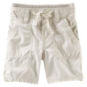Oshkosh Boy Pork-chop Pocket Shorts; 6m; Tan