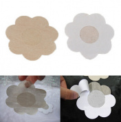 CHENGYIDA 25 Pairs Flower Adhesive Nipple Covers Pads Body Breasts Stickers Disposable Milk Paste Anti Emptied The Chest Paste