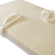 Monarch Natural Latex Changing Pad + Organic Cotton Cover