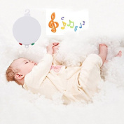 Baby Crib Baby Bedding Battery-operated Musical Mobile Plays 35 Tunes