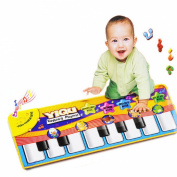 Lookatool® Touch Play Keyboard Musical Music Singing Gym Carpet Mat Best Kids Baby Gift