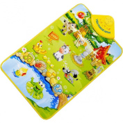 Lookatool® Kids Baby Farm Animal Musical Music Touch Play Singing Gym Carpet Mat Toy Gift
