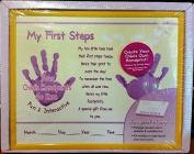 My First Steps Handprint Memories