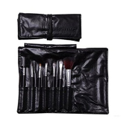 Domire 7pcs Professional Cosmetic Makeup Make up Brush Brushes Set Kit with Black Bag Case