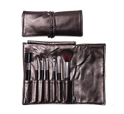 Domire 7pcs Professional Cosmetic Makeup Make up Brush Brushes Set Kit with Coffee Bag Case