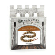 Weave Got Maille Box Weave Chain Maille Bracelet Kit, Helen of Troy