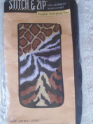 Eyeglass Case - Animal Skins - Needlepoint Kit