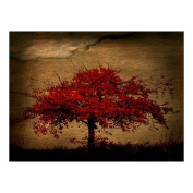 Fashion Red Tree Painting Canvas Print 41cm x 30cm Modern Canvas Art Wall Decor Landscape Oil Painting Wall Art Wall Decor Home Decorations.