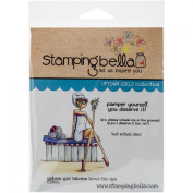 Stamping Bella Cling Rubber Stamp 17cm x 11cm -Sabrina Love The Spa