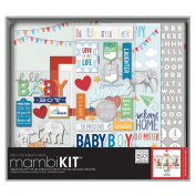 Me & My Big Ideas Boxed Album Kit 30cm x 30cm -Cool Baby Boy
