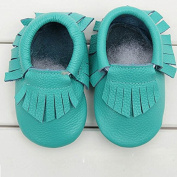 FEITONG(TM) Baby Tassel Soft Sole Cow Leather Shoes Infant Boy Girl Toddler Moccasin