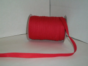 Red Double Fold Bias Tape 50 Yds. 1.3cm