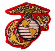 USMC Globe United States Marine Corps Emblem Embroidered Patch