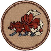 Nine Tailed Fox Patrol Patch - 5.1cm Round