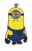 Despicable Me MINION BOB Embroidered Iron On / Sew On Patch