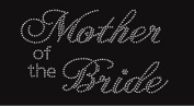 Mother of the Bride Rhinestone Iron on Transfer