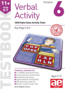 11+ Verbal Activity Year 5-7 Testbook 6