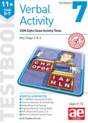 11+ Verbal Activity Year 5-7 Testbook 7