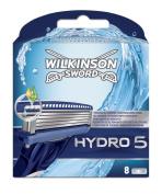 Wilkinson Sword Hydro5 Razor Blade Refill Cartridges, Pack of 8