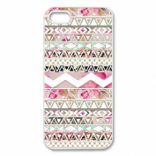 iPhone 6 Plus Case, AutumnFall(TM) Girly Floral Tribal Andes Aztec Printed Case