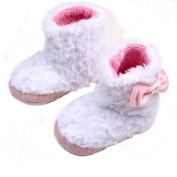 ELee Baby Soft-sole Non Slip Plush Winter Warm Flat Short Snow Boots