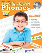 Sing and Learn Phonics, vol. 1 (Book with Audio CD)