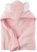 Carter's Hooded Towel - Pink Elephant