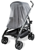 Baby Mosquito Net for Strollers, Carriers, Car Seats, Cradles. Fits Most Pack'n'Plays, Cribs, Bassinets & Playpens. Made of White, Portable & Durable Insect Netting, Provides Complete Child Protection