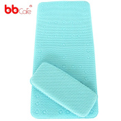 BBcare® Non-slip & Extra Large Bath Mat with Soft Kneelers