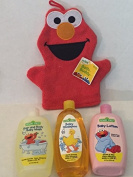 Sesame Street 4 Piece Baby Bathtime Bundle