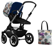 Bugaboo Buffalo Accessory Pack - Andy Warhol Transport/Royal Blue [Special Edition]