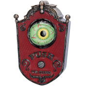 Light Up Talking Eyeball Doorbell - Haunted House Halloween Party Prop