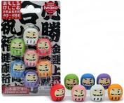 Iwako Japanese Daruma Eraser Set