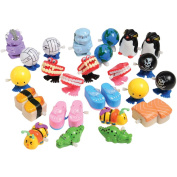 U.S. Toy Wind-up Toys 24 Pc. Assortment