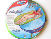 SwimWays Spring Float Graphic Prints, Green Sea Turtle