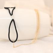 Girl's Boho Gear Style Rope Elastic Headband Link Chain Headpiece